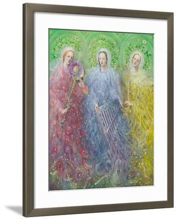 Mass for Three Voices, 2016-Annael Anelia Pavlova-Framed Giclee Print