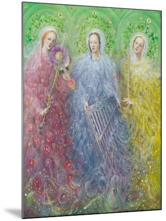 Mass for Three Voices, 2016-Annael Anelia Pavlova-Mounted Giclee Print