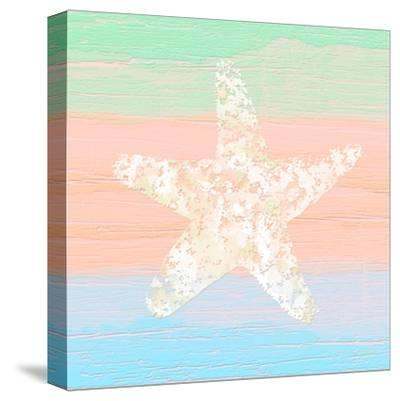 Pastel Coastal 3-Alonza Saunders-Stretched Canvas Print