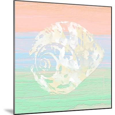 Pastel Coastal 2-Alonza Saunders-Mounted Art Print