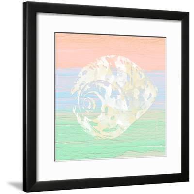 Pastel Coastal 2-Alonza Saunders-Framed Art Print