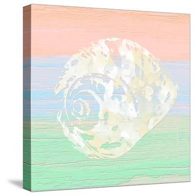 Pastel Coastal 2-Alonza Saunders-Stretched Canvas Print
