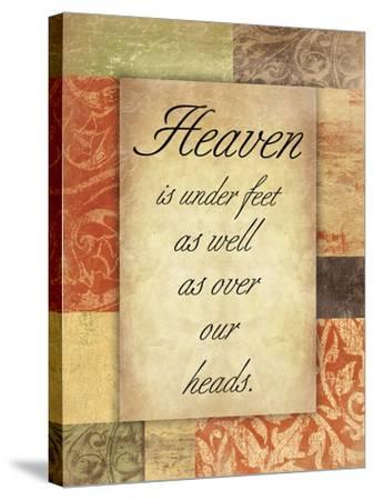 Heaven Spice Patch-Jace Grey-Stretched Canvas Print