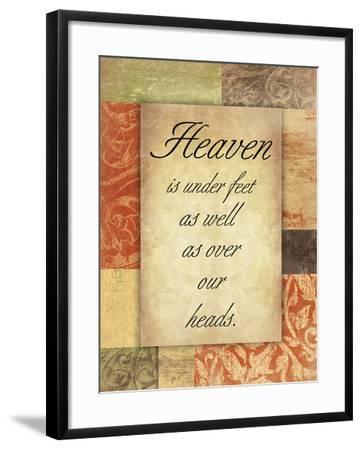 Heaven Spice Patch-Jace Grey-Framed Art Print