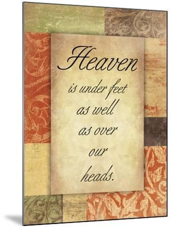 Heaven Spice Patch-Jace Grey-Mounted Art Print