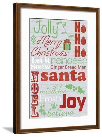 Jolly 2-Lauren Gibbons-Framed Art Print