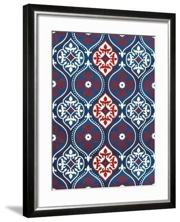 Moraccan Patriot-Jace Grey-Framed Art Print