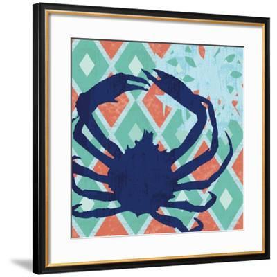 Under The Sea 2-Lauren Gibbons-Framed Art Print