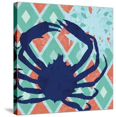 Under The Sea 2-Lauren Gibbons-Stretched Canvas Print