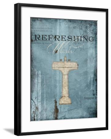 Refreshing Wash-Jace Grey-Framed Art Print