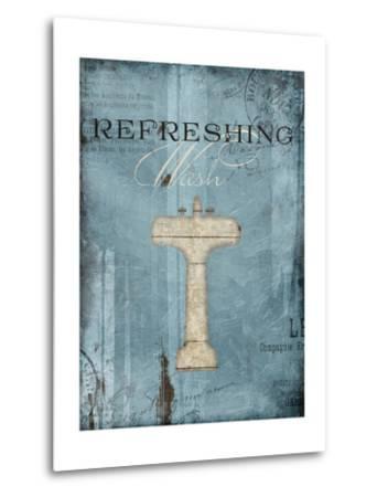 Refreshing Wash-Jace Grey-Metal Print