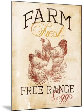 Free Range Eggs-Jace Grey-Mounted Art Print