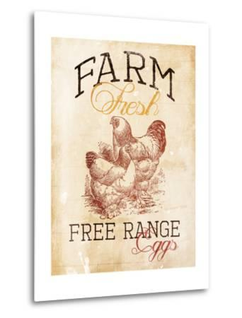 Free Range Eggs-Jace Grey-Metal Print