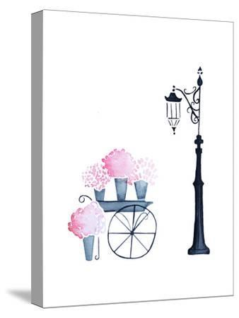 Flower Shopping-Alicia Zyburt-Stretched Canvas Print