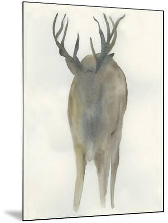 Solo Deer-Beverly Dyer-Mounted Art Print