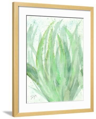 Into Green 1-Beverly Dyer-Framed Art Print