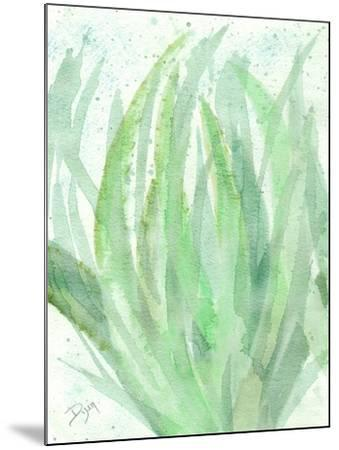 Into Green 1-Beverly Dyer-Mounted Art Print
