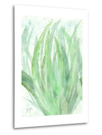 Into Green 1-Beverly Dyer-Metal Print