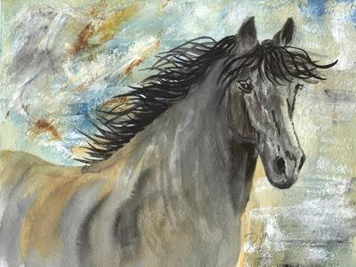 Run Like the Wind-Beverly Dyer-Stretched Canvas Print