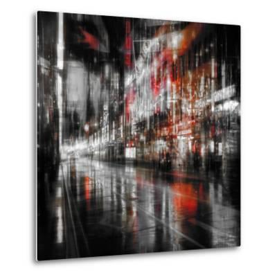 City At Night 5-Ursula Abresch-Metal Print