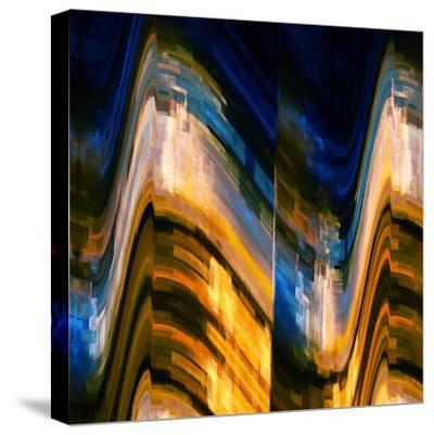 City at Night 4-Ursula Abresch-Stretched Canvas Print