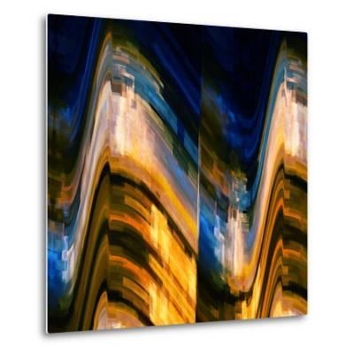 City at Night 4-Ursula Abresch-Metal Print
