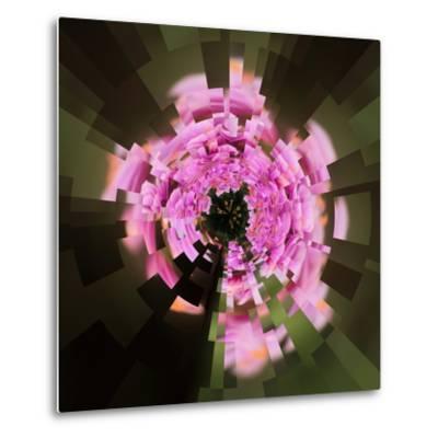 Variations on a Circle 24-Philippe Sainte-Laudy-Metal Print