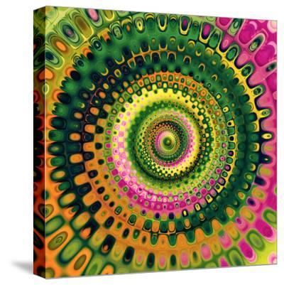 Variations on a Circle 9-Philippe Sainte-Laudy-Stretched Canvas Print