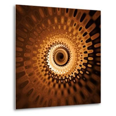 Variations on a Circle 31-Philippe Sainte-Laudy-Metal Print