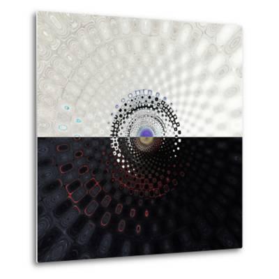 Variations on a Circle 34-Philippe Sainte-Laudy-Metal Print