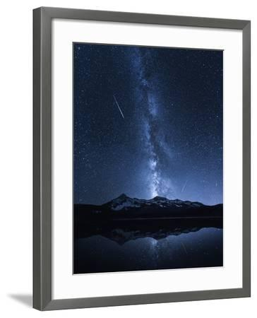 Galaxies Reflection-Toby Harriman-Framed Photographic Print
