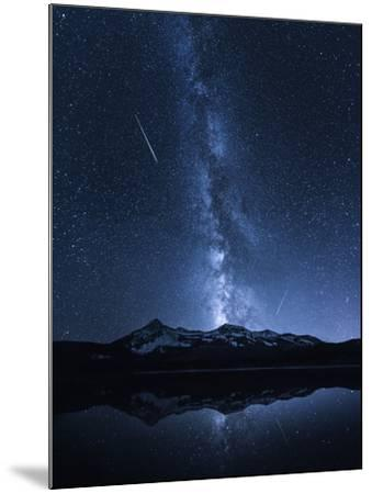 Galaxies Reflection-Toby Harriman-Mounted Photographic Print