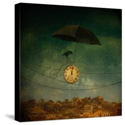 Timekeeper-Svetlana Melik-Nubarova-Stretched Canvas Print