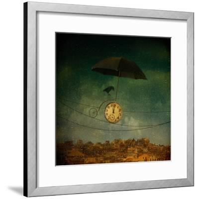 Timekeeper-Svetlana Melik-Nubarova-Framed Photographic Print