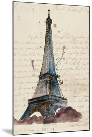 Letters from Eiffel-Melissa Wang-Mounted Art Print