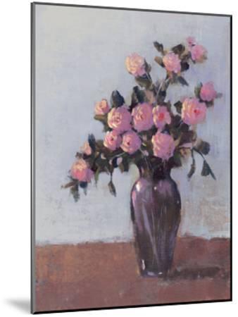 Soft Lit Roses I-Tim OToole-Mounted Art Print