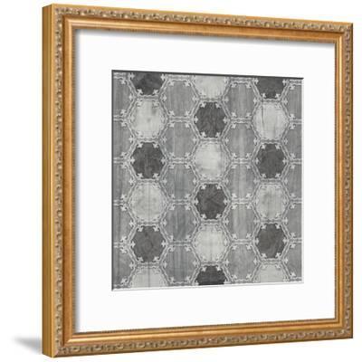 Boho Luxe Tile IV-June Vess-Framed Art Print