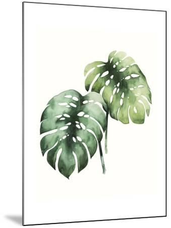 Tropical Plant I-Grace Popp-Mounted Art Print