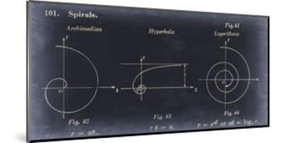Mathematics III-Jason Johnson-Mounted Art Print