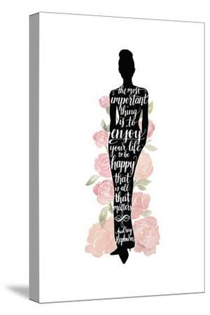 Iconic Woman III-Grace Popp-Stretched Canvas Print