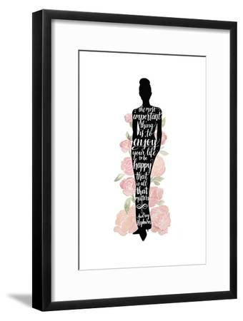 Iconic Woman III-Grace Popp-Framed Art Print