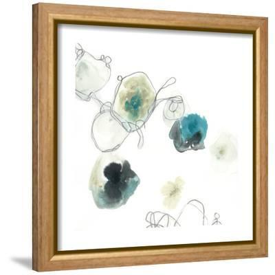 Microcosm IV-June Vess-Framed Stretched Canvas Print