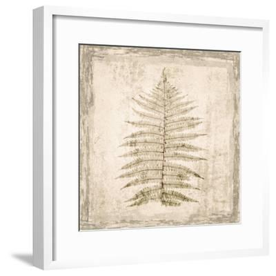 Stone Leaf I-Irena Orlov-Framed Art Print