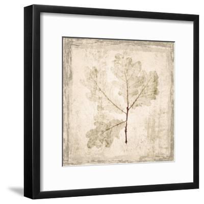 Stone Leaf III-Irena Orlov-Framed Art Print