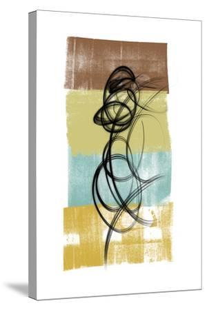 Dancing Swirl II-Alonzo Saunders-Stretched Canvas Print
