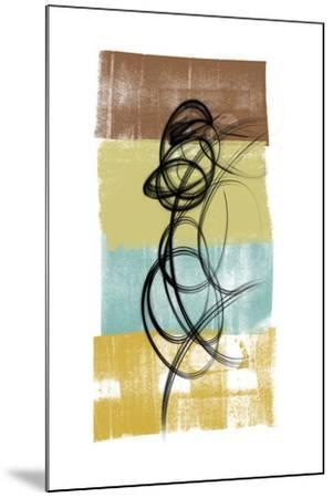Dancing Swirl II-Alonzo Saunders-Mounted Art Print