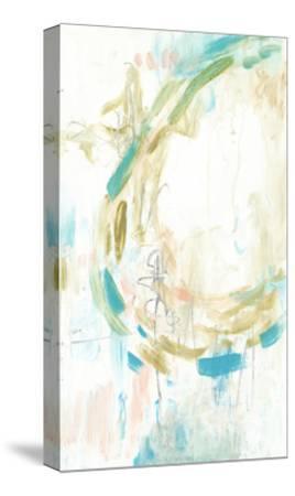 Pastel Movement I-Jennifer Goldberger-Stretched Canvas Print