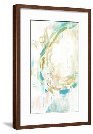 Pastel Movement I-Jennifer Goldberger-Framed Art Print