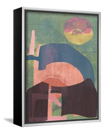Alicante Moon-Rob Delamater-Framed Stretched Canvas Print