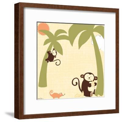 Baby Jungle II-June Vess-Framed Art Print
